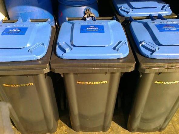120 lt container für küchenabfalle